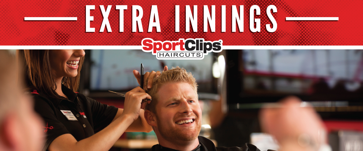 The Sport Clips Haircuts of Clairemont Town Square Extra Innings Offerings